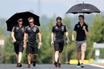 Nico Hülkenberg (Force India) beim Track-Walk