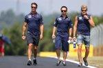 Marcus Ericsson (Sauber) beim Track-Walk