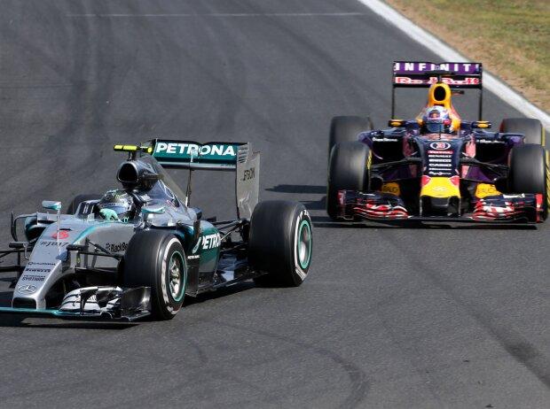 Nico Rosberg, Daniel Ricciardo