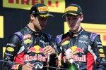 Daniel Ricciardo (Red Bull) und Daniil Kwjat (Red Bull)