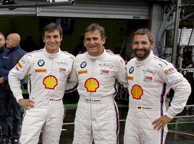 Alessandro Zanardi, Timo Glock, Bruno Spengler