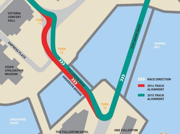 Singapur Strecke