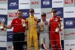 Antonio Giovinazzi, Felix Rosenqvist und Lance Stroll