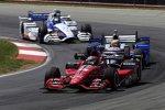 Graham Rahal (Rahal), Justin Wilson (Andretti) und Marco Andretti (Andretti)