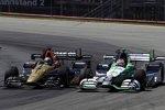 Ryan Briscoe (Schmidt) und Carlos Munoz (Andretti)
