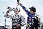 Graham Rahal (Rahal), Justin Wilson (Andretti) und Simon Pagenaud (Penske)
