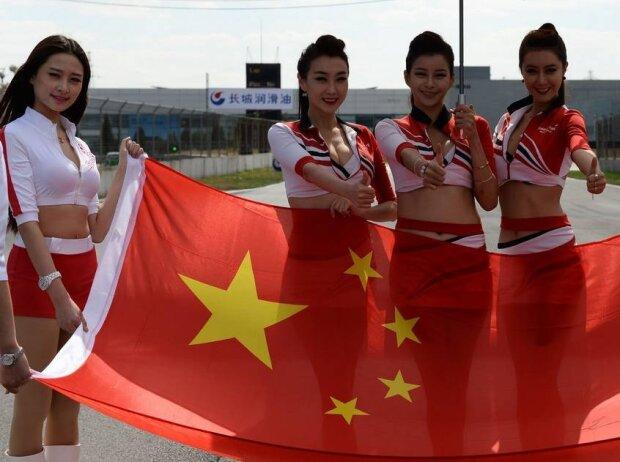 China-Flagge, Fahne