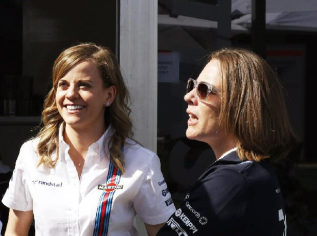 Susie Wolff, Claire Williams