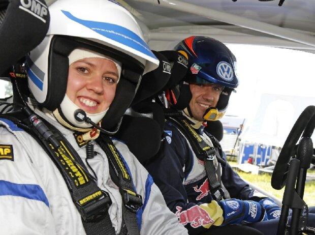 Sebastien Ogier und Viktoria Rebensburg