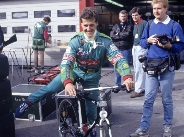 Michael Schumacher Spa 1991