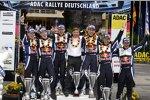 Siegerfoto des Volkswagen-Teams