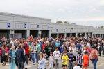 Fans in Donington
