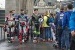 Die MotoGP-Stars in London