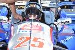 Oriol Servia im Andretti-Cockpit von Justin Wilson