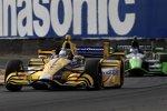 Marco Andretti (Andretti) und Sebastien Bourdais (KV)