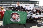 Sechste Pole-Position der Saison und damit der Pole-Award 2015 für Will Power (Penske)