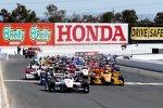Start zum GoPro Grand Prix of Sonoma mit Will Power (Penske) auf der Pole-Position