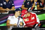 Felipe Massa (Williams) und Sebastian Vettel (Ferrari)