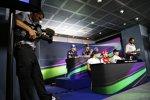 Marcus Ericsson (Sauber), Daniel Ricciardo (Red Bull), Carlos Sainz (Toro Rosso), Nico Rosberg (Mercedes), Sebastian Vettel (Ferrari) und Felipe Massa (Williams)