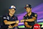 Marcus Ericsson (Sauber) und Daniel Ricciardo (Red Bull)