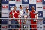 Jake Dennis, Felix Rosenqvist und Lance Stroll