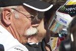 Dieter Zetsche und Lewis Hamilton (Mercedes)