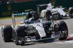 Nico Rosberg (Mercedes) und Felipe Massa (Williams)