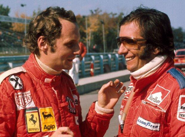 Niki Lauda, Emerson Fittipaldi
