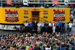 Pre-Race-Show mit zahlreichen Mitgliedern der NASCAR Hall of Fame
