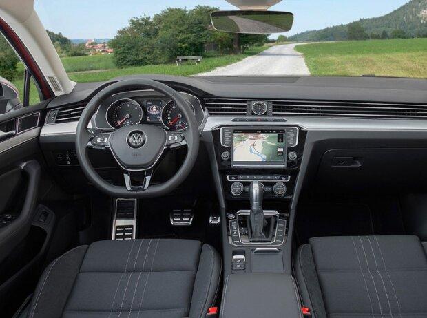 Innenraum des Volkswagen Passat Alltrack