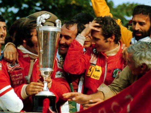 Niki Lauda, Emerson Fittipaldi, Clay Regazzoni