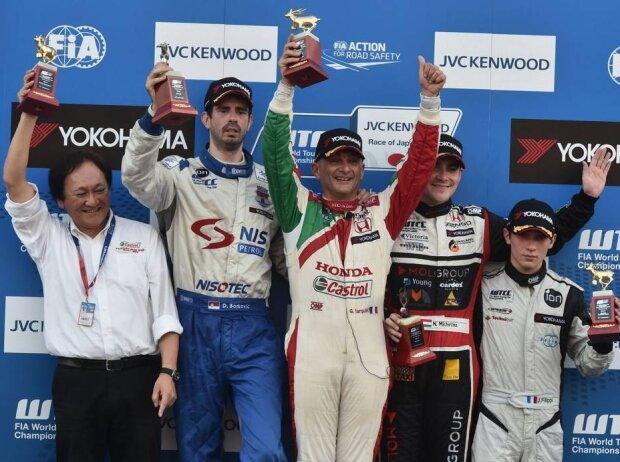 Gabriele Tarquini, Dusan Borkovic, Norbert Michelisz, John Filippi