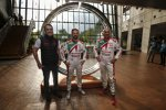 Norbert Michelisz, Tiago Monteiro und Gabriele Tarquini im Honda-Museum in Motegi
