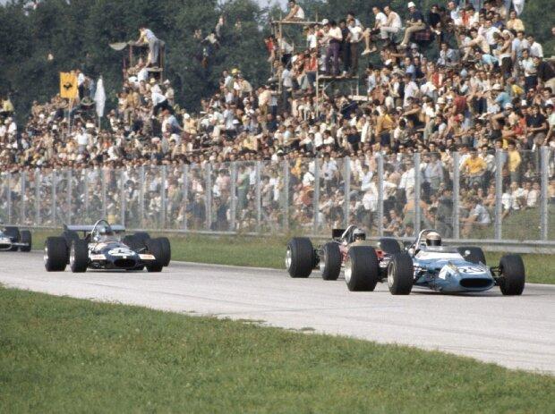 Jackie Stewart, Jochen Rindt, Piers Courage