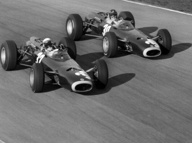 Jackie Stewart, Graham Hill