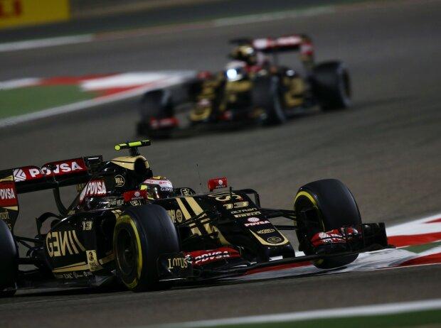 Pastor Maldonado, Romain Grosjean
