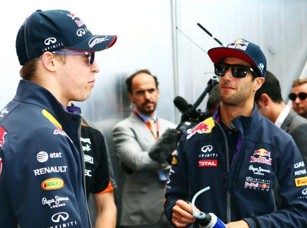 Daniil Kwjat, Daniel Ricciardo, Nico Rosberg