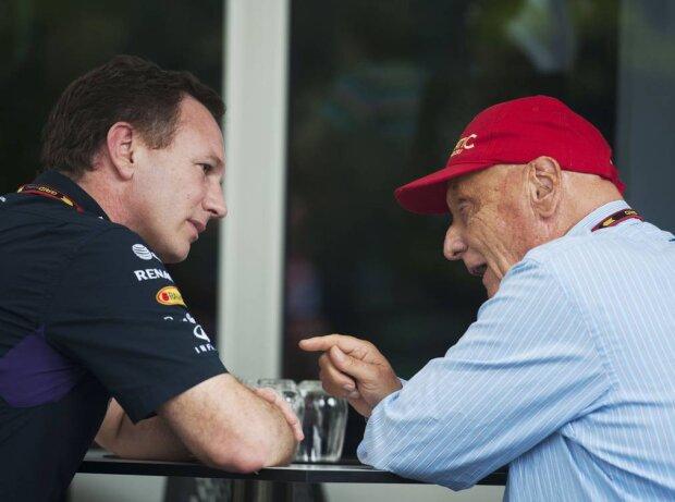 Christian Horner, Niki Lauda