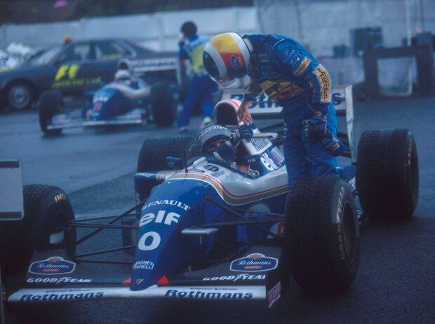 Michael Schumacher, Damon Hill