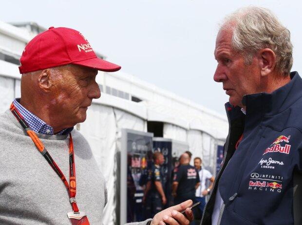 Niki Lauda, Helmut Marko