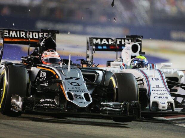 Nico Hülkenberg, Felipe Massa