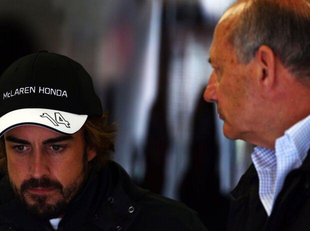 Fernando Alonso, Ron Dennis