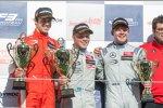 Lance Stroll, Felix Rosenqvist und Nick Cassidy