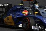 Felipe Nasr (Sauber) und Sergio Perez (Force India)