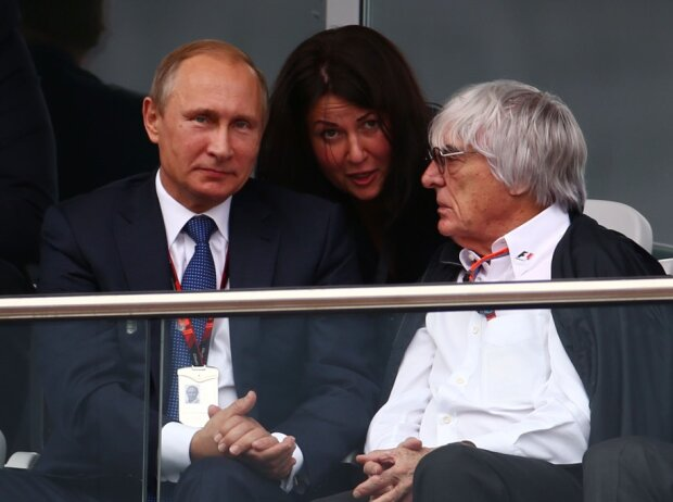 Bernie Ecclestone, Wladimir Putin