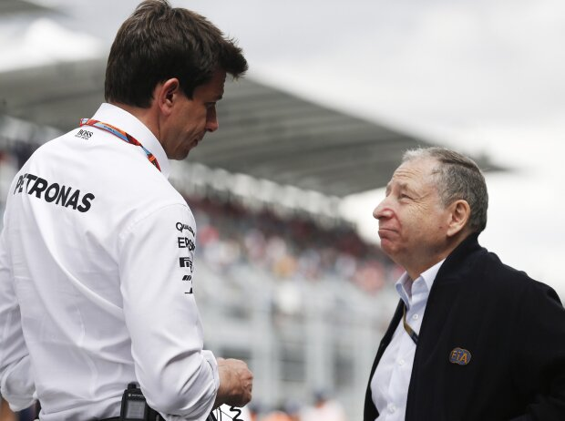 Toto Wolff, Jean Todt