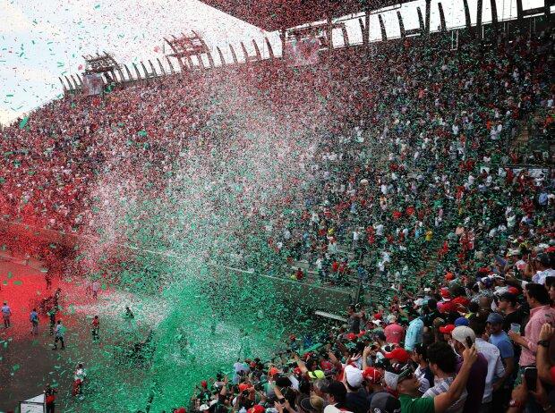 Fans in Mexiko