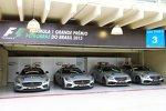 Safety- und Medical-Cars in Interlagos