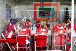 Meeting bei Ferrari