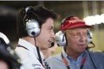 Toto Wolff und Niki Lauda